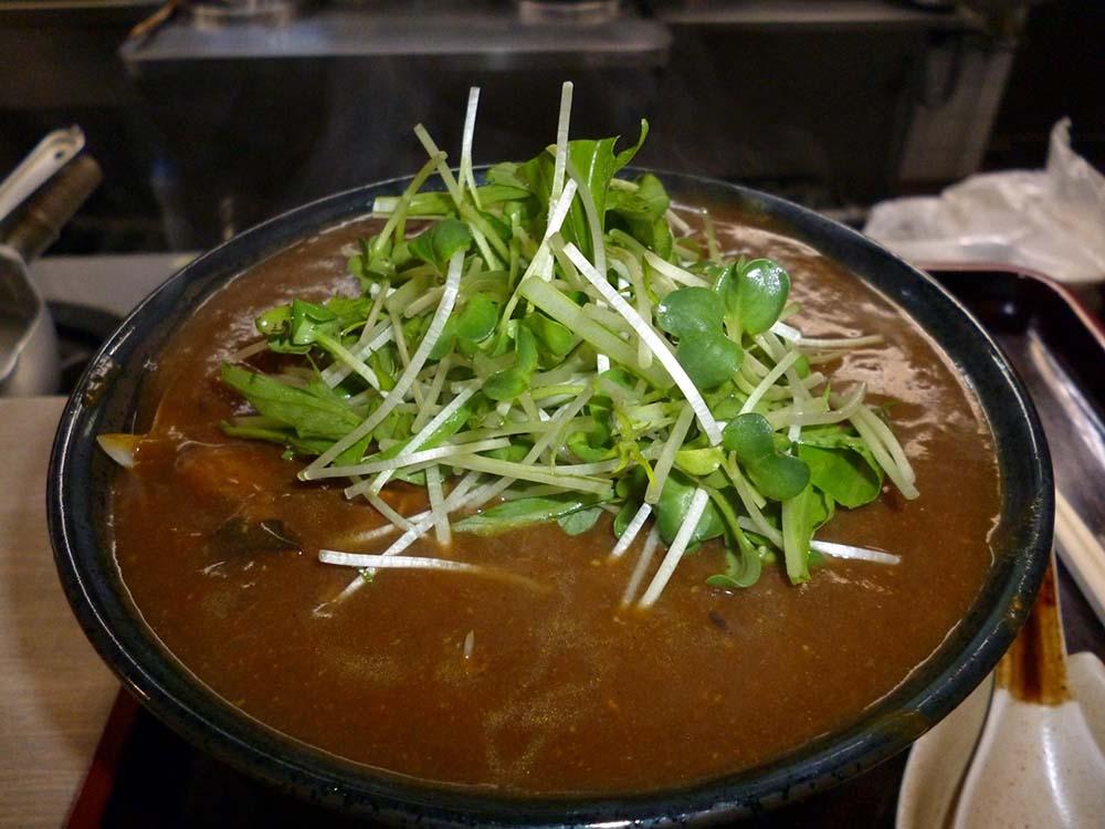 カレーと蕎麦